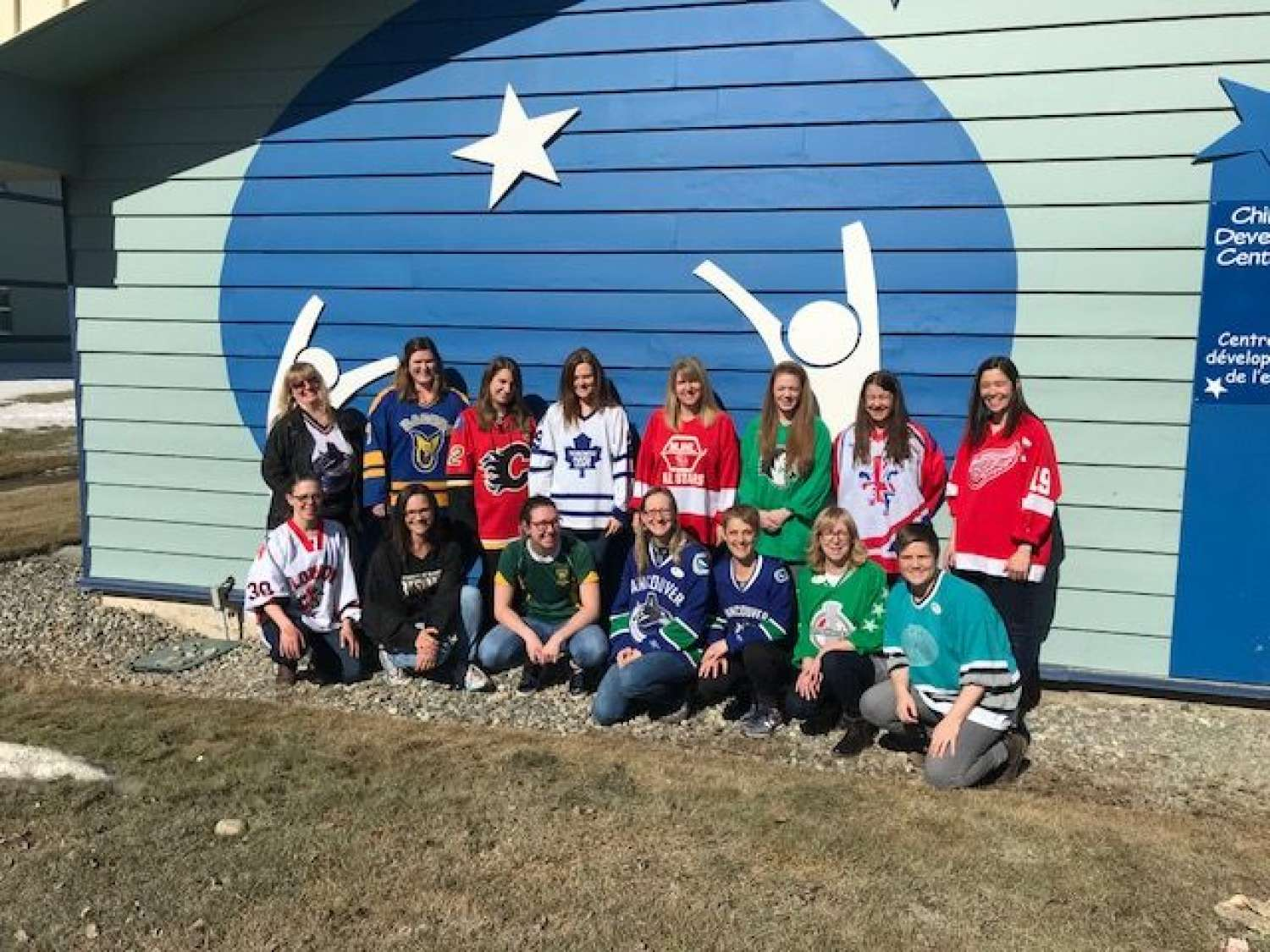 Our staff #jerseysfor humbolt